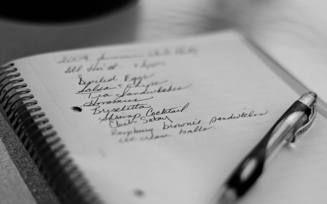 MIC GHID IN PLANIFICAREA MESELOR (III) – CUM FACEM CORECT LISTA DE CUMPARATURI